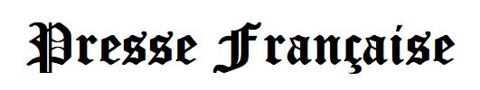 Presse française en ligne